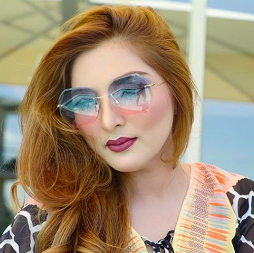 Rambut Anyar Ashanty yang Bikin Agak Pangling