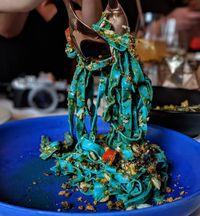 Yang Lagi Ngetren di Sydney, Pasta Unik dan Cantik Berwarna Biru