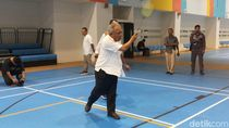 Jajal Training Facility GBK, Menteri PUPR Main Badminton