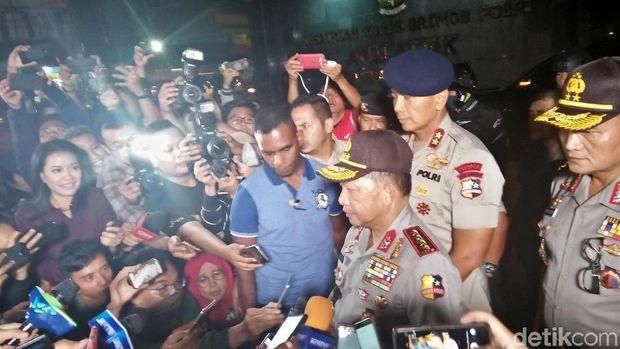 Kapolri Jenderal Tito Karnavian di Mako Brimob Depok, Kamis (10/5/2018)