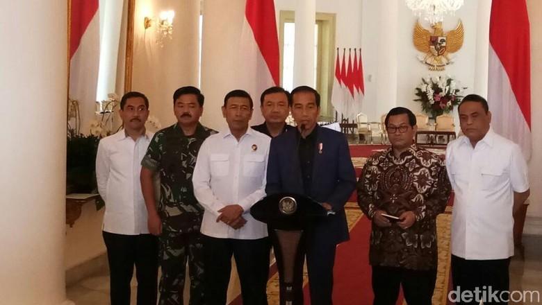 Ini Pernyataan Lengkap Jokowi soal Kerusuhan Teroris di Mako Brimob