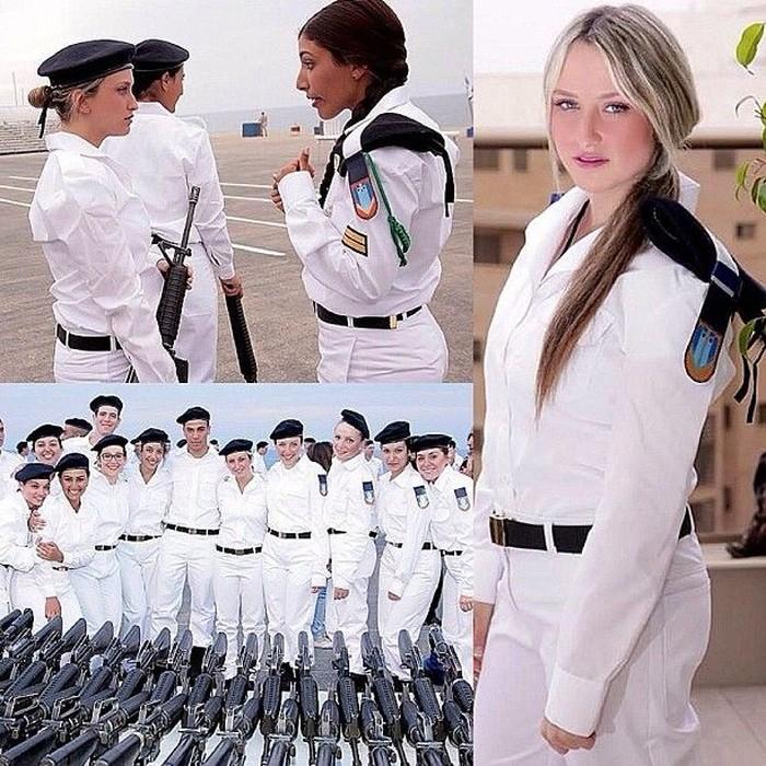 Bila Korea Selatan mengharuskan para pemudanya mengikuti wajib militer, berbeda dengan Israel. Negara tersebut justru mewajibkan para kaum perempuannya. Foto: Instagram @adi_malka2