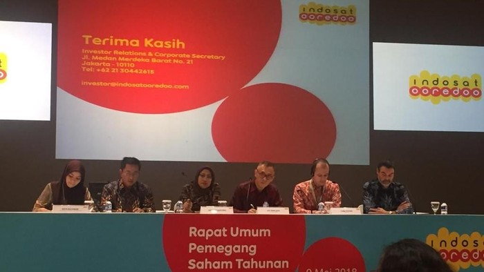 Foto: dok. Indosat Ooredoo ganti direksi dan komisaris
