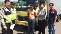 Polantas Tol Cipali Kejar-kejaran dengan Pencuri Mobil Boks
