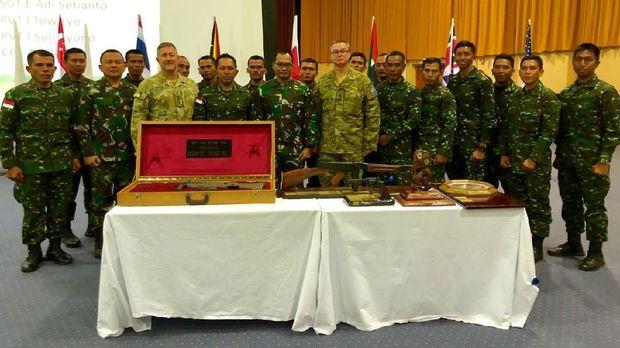 Lomba Tembak AASAM 2018, TNI AD Kembali Jadi Juara