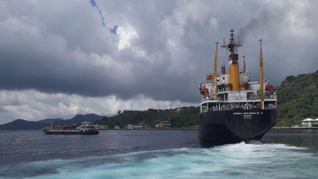 Program Tol Laut Jokowi, dari Natuna Tembus Morotai
