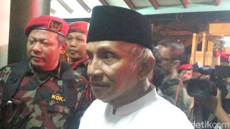 Amien Yakin Dampak Kemenangan Mahathir Sampai Indonesia