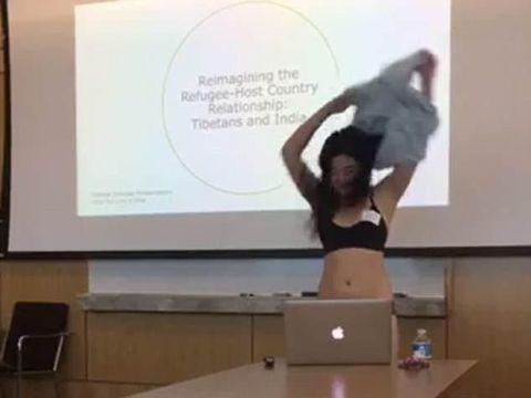 Letitia Chai nekat buka baju usai berdebat dengan dosennya di kelas