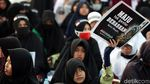 Foto: Anak-anak Ikut Aksi Bela Palestina di Monas
