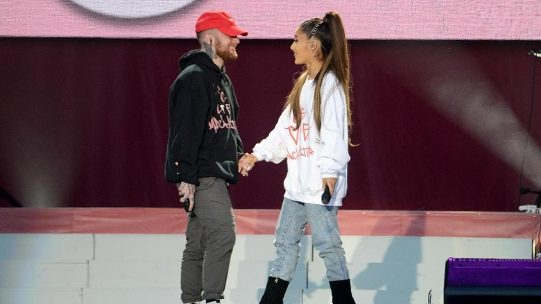 Foto: Ariana Grande dan Mac Miller (Dave Hogan/Getty Images)