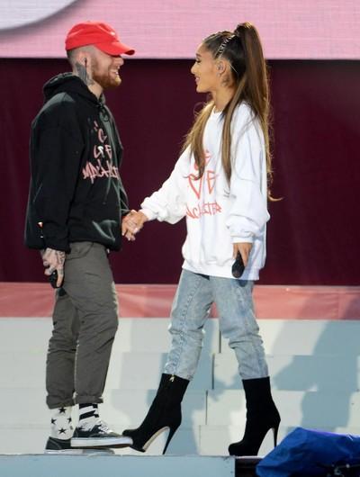 Foto: Ariana Grande dan Mac Miller (Dave Hogan/Getty Images)