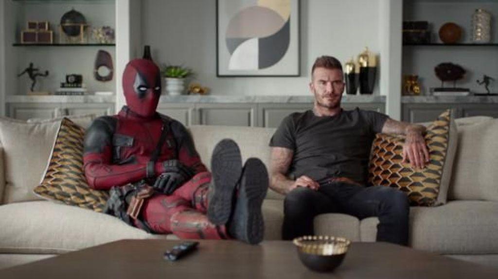 Setelah Bertemu Wiro Sableng, Deadpool Sambangi David Beckham