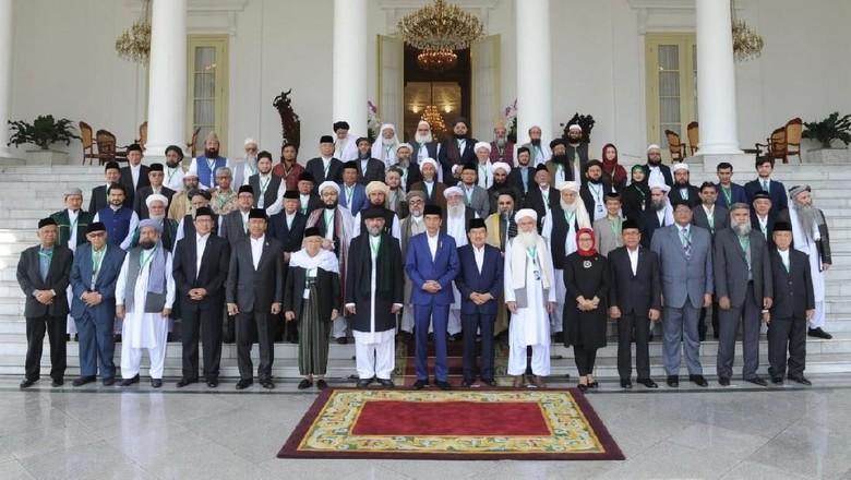 Di Depan Ulama 3 Negara, Jokowi Kecam Sikap AS soal Yerusalem