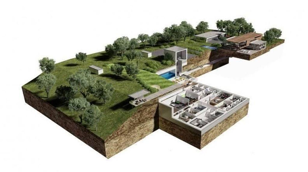 Rumah Anti Kiamat yang Bikin Aman dari Gempa Hingga Bom Nuklir