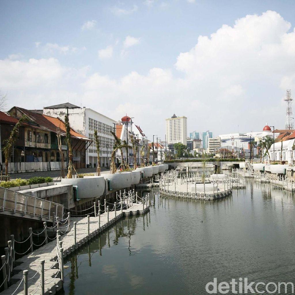 Cantiknya Kali Besar Kota Tua Jakarta
