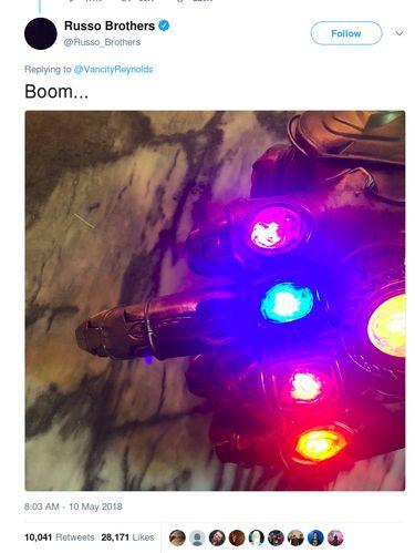 Olok-olok Russo Brothers pada Deadpool