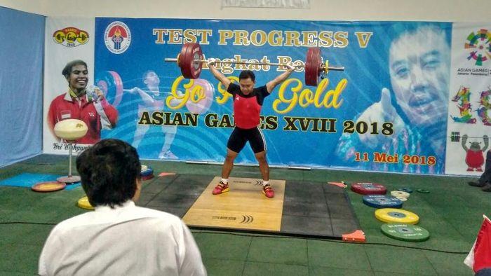 Cabang olahraga angkat besi batal training camp ke China. (Foto: Mercy Raya/detikSport)