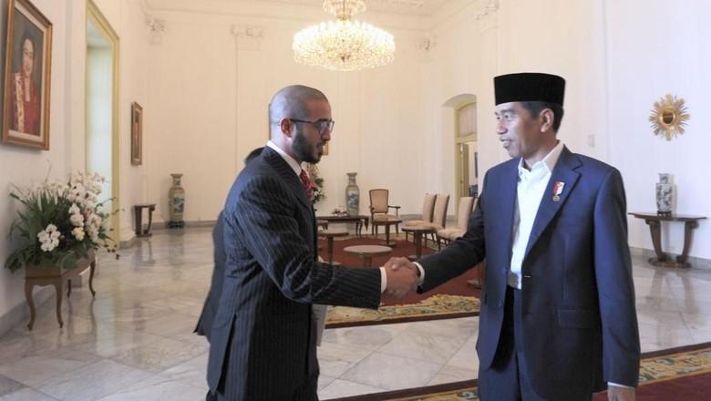 Bertemu Pangeran Bahrain, Jokowi Bahas Tarung MMA dan Investasi