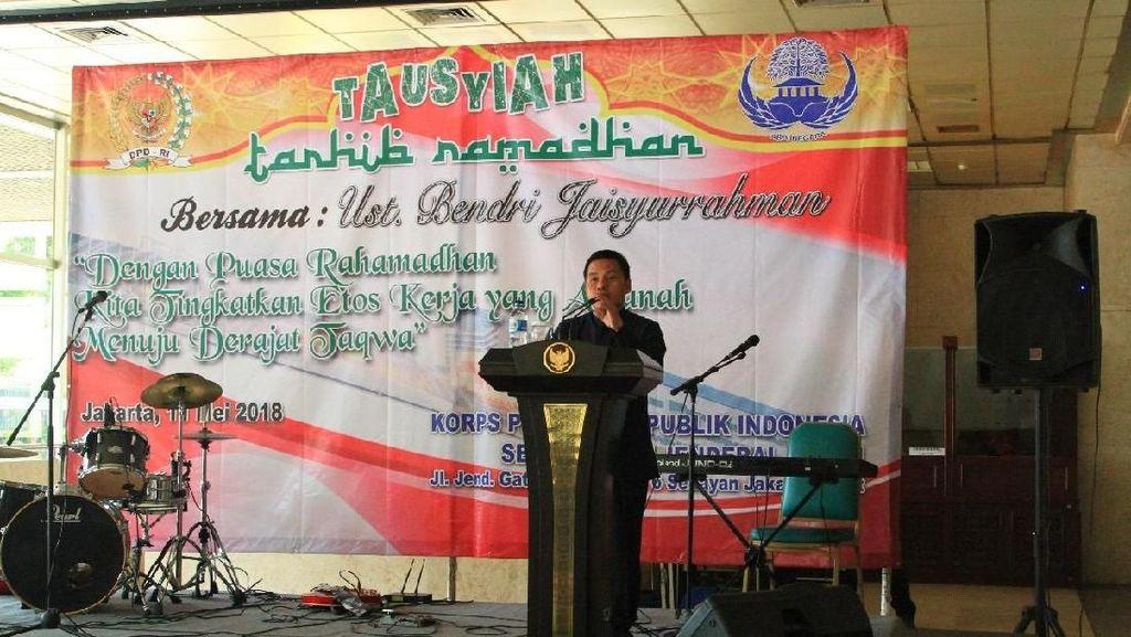 Gelar Tarhib Ramadan, DPD: Kita Perlu Refleksi Kinerja