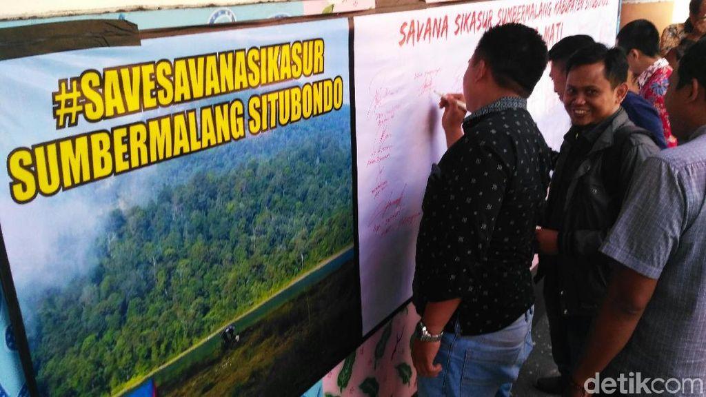 Savana Sikasur Diklaim Probolinggo, DPRD Situbondo Gerah