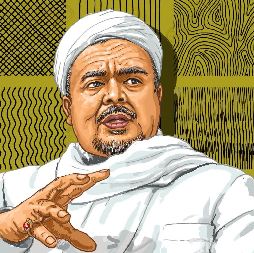 PA 212 ke Ngabalin: Bilang ke Jokowi, Pulangkan & Hapus Kasus Habib Rizieq!
