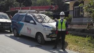 Pasokan Listrik di Sekitar Gunung Merapi Dipastikan Aman