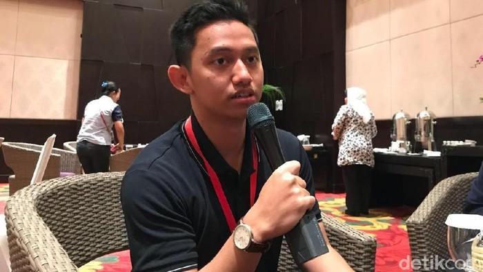 CEO Ruangguru Adamas Belva Syah Devara. Foto: detikINET/Adi Fida Rahman