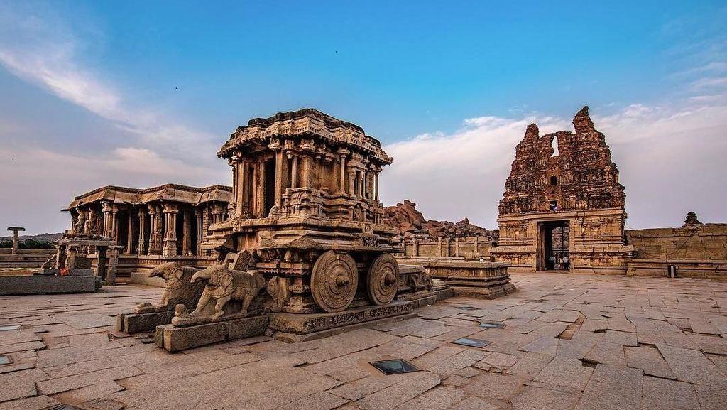 Terbengkalai, Situs Warisan Dunia ini Justru Jadi Paling Indah