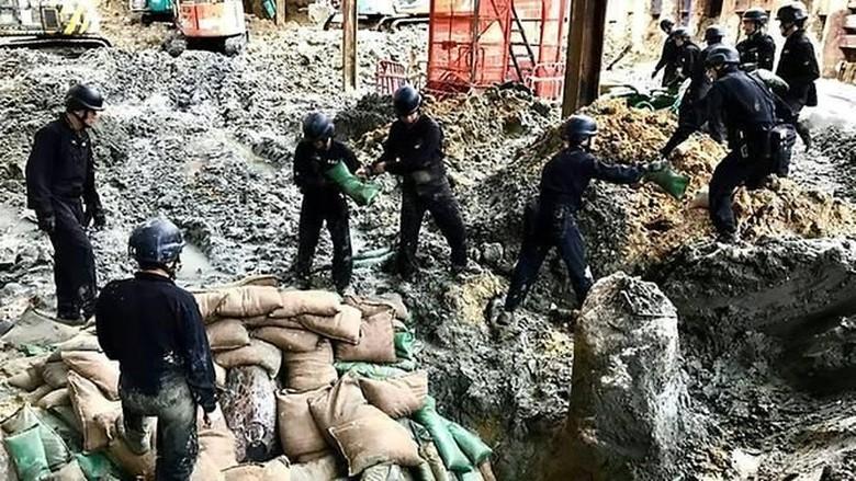 Polisi Hong Kong Kembali Jinakkan Bom Perang Dunia II