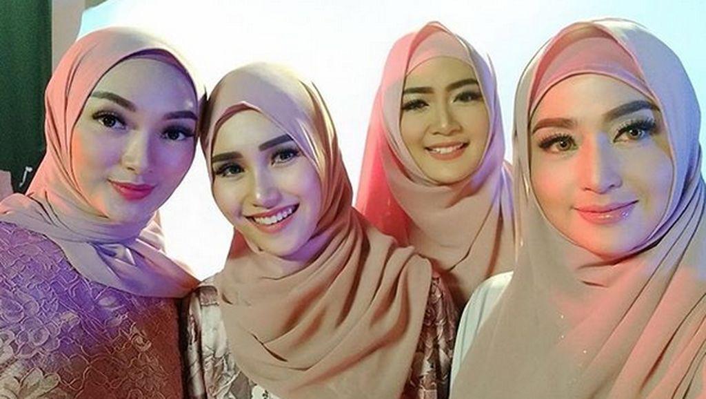 Kenakan Hijab, Dewi Persik Bikin Pangling