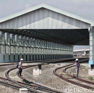Lima Stasiun akan Beroperasi di Double-double Track Jabodetabek