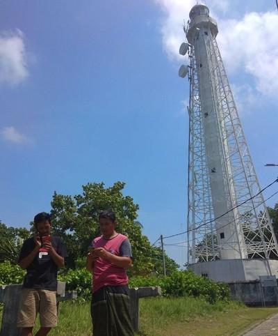 Foto: Telkomsel Bangun 4G di Ujung Pulau Seribu
