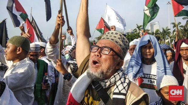 Galang Dana Bantu Palestina Dengan Berjualan di Aksi 115