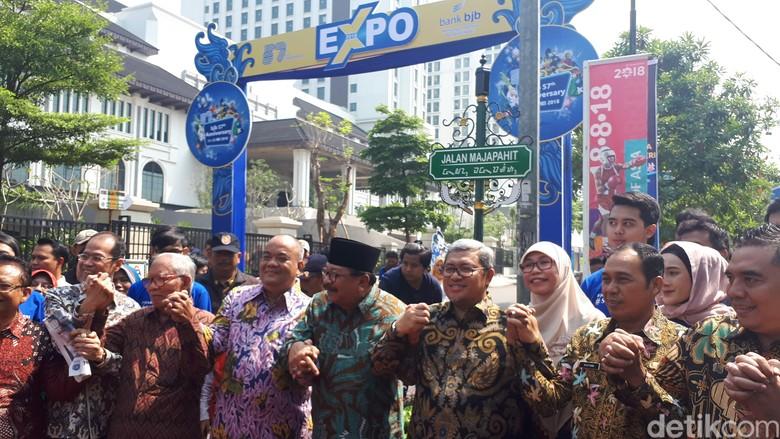 Sah! Jalan Majapahit dan Hayam Wuruk Ada di Kota Bandung