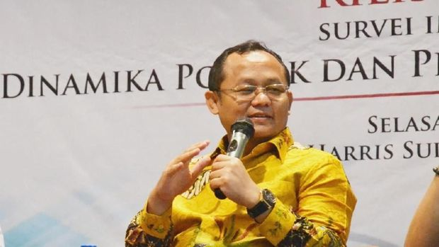 Ical Cs Beri Dukungan Airlangga Jadi Cawapres Jokowi, Bukan JK