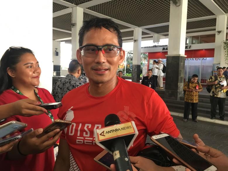 Sandi Tepis Argumen Anggota Gerindra Kontra Penjualan Saham Bir