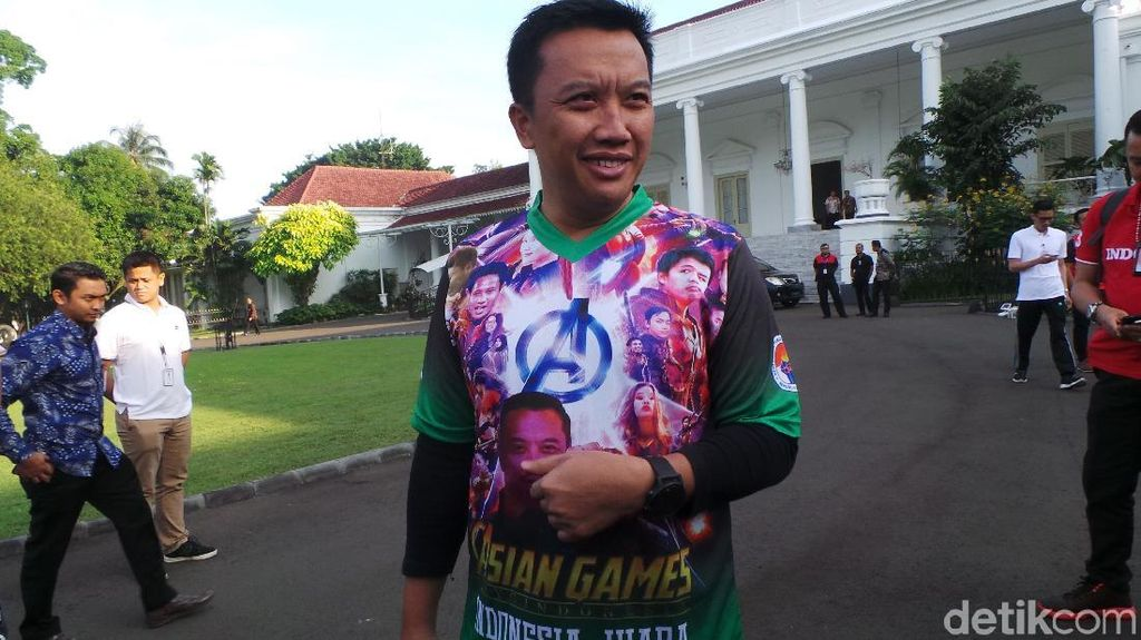 Promosi Asian Games, Menpora Jadi Thanos