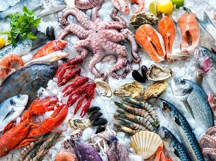 Hidangan laut atau seafood kaya akan Omega-3 yang disebut-sebut bagus untuk kesuburan. (Foto: iStock)