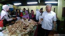 Pedagang Pasar Curhat ke Mendag: Stok Ayam dan Telur Berkurang