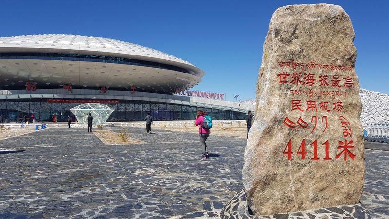 Namanya Bandara Daocheng Yading. Bandara ini memegang rekor sebagai bandara tertinggi di dunia, seperti diberitakan CNN Travel (CNN Travel)