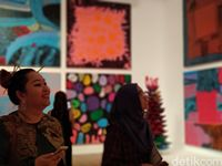 Membludaknya Ribuan Pengunjung di Pameran Yayoi Kusama Jakarta