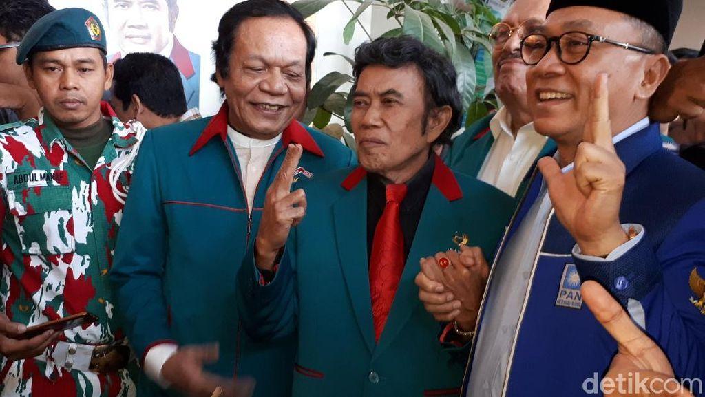 Idaman Gabung PAN, Kader Teriak Zulkifli-Rhoma Capres-Cawapres