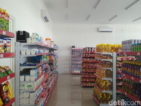 Produk makanan dan minuman di Umat Mart
