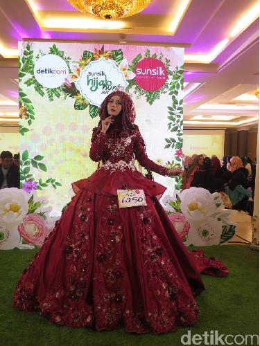 Ikut Audisi Sunsilk Hijab Hunt Hijabers Ini Heboh Pakai Gaun Pengantin
