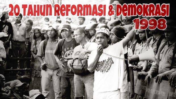 Kenangan Masinton Pasaribu Ikut Rumuskan Isu untuk Aksi 1998