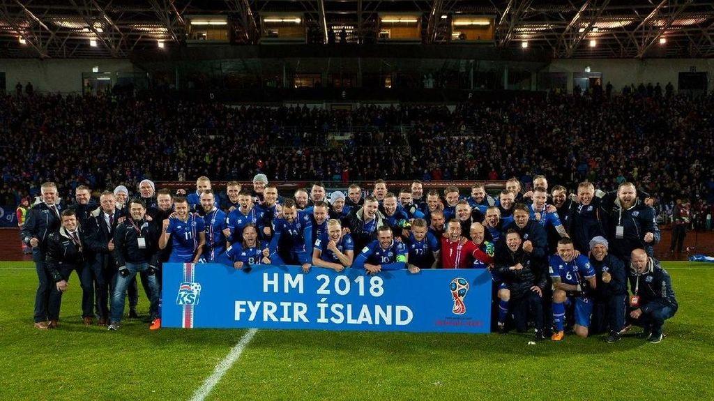 Islandia Jadi Negara Pertama yang Umumkan Skuat Piala Dunia 2018