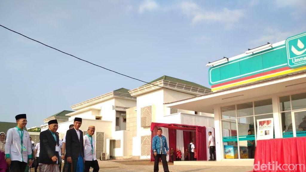 Resmikan Umat Mart, Jokowi Pesan Jaga Kerukunan saat Pemilu