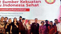 Ketika Megawati Mendengar Curhat Para Perawat