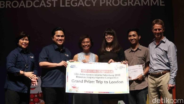 Kompetisi Film Pendek Guna Sambut Asean Games
