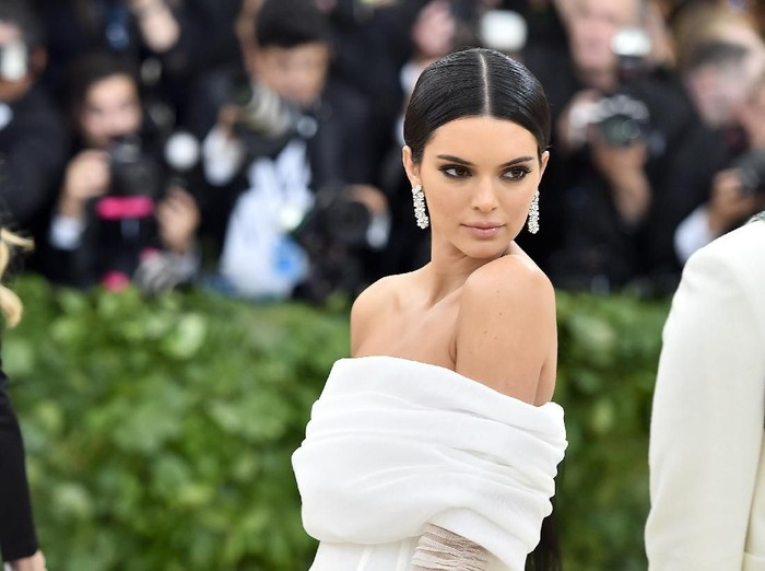 Kendall Jenner hadir di Met Gala 2018, New York City. Foto: Getty Images